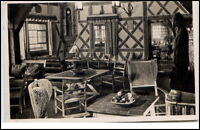 Sasbachwalden alte AK ~1940 Innenansicht Sternenwirtshaus Hohritt Wirtshaus