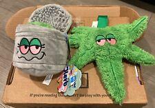Barkbox Dog Toy 420 Bundle Gina's Grass Grinder & Herb 420 M/L (Sold Out, Nwt)