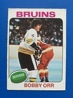 Bobby Orr 1975-76 O-Pee-Chee  Hockey Card #100 Boston Bruins