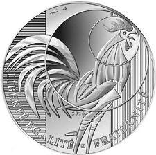 France 2016 Le Coq The Rooster Silver UNC Coin Monnaie de Paris Final Issue