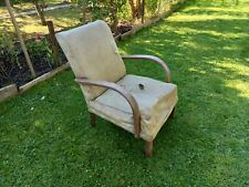 More details for beautiful 1930's art deco bent wood arm chair in need of restoration