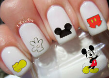 It's Mickey Mouse Nail Art Stickers Transfers Decals Set of 88