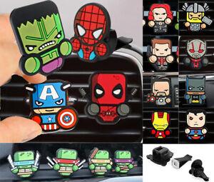 Marvel Avengers End Game DC Comics TMNT Star Wars Car Air Freshener Fragrance UK