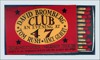 David Bromberg Poster Tom Rush Original Signed Silkscreen Gary Houston ´09