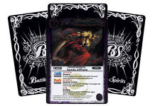 BATTLE SPIRITS: 10 CARTE RARE SERIE 1 - LOTTO FENDIOMBRA + 2 PROMO IN OMAGGIO