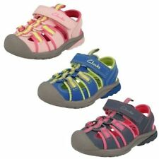 Sandales en synthétique avec attache auto-agrippant pour fille de 2 à 16 ans