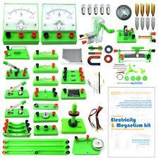 School Physics Labs Basic Eectricity Discovery Circuit & Magnetism Experiment