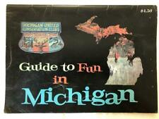 Michigan United Conservation Clubs County Maps Vintage Around 1969-1970