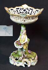 19èm belle coupe montée porcelaine fine Carl Thieme Potschappel  26c800g Meissen