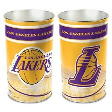 Wincraft NBA Los Angeles Lakers Metal Trash Can Waste Basket Garbage Can new