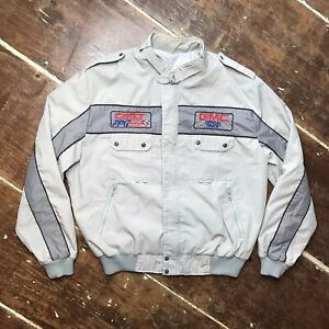 Vintage 80s Cart PPG Indy Car World Series GMC Official Truck Jacket Mens XL