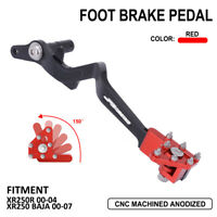 CNC Rear Foot Brake Lever Pedal For Honda XR XR250R XR250 BAJA 01 02 03 04 Red