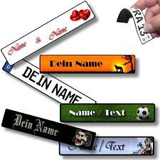 Persönliche Geschenke mit Name Wunschtext verschiedene Motive Kühlschrank-Magnet