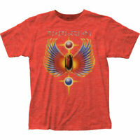 Journey Hits T Shirt Mens Licensed Rock N Roll Music Band Tee New Orange