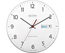 Quartz (Battery Powered) Calendar Living Room Wall Clocks