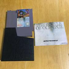 Nintendo NES Game - The Battle Of Olympus + Manual