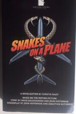 Snakes On A Plane by Christa Faust (2006) Black Flame pb 1st