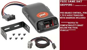 80500 Pro Series Brake control with Wiring Harness 3026 FOR 2007-2018 GM
