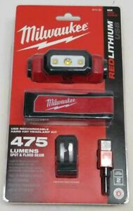 Milwaukee 2111-21 Usb Rechargeable Hard Hat Headlamp MLW211121 RETAIL PACK