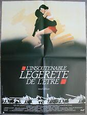 L'INSOUTENABLE LEGERETE DE L'ETRE Affiche Cinéma / Movie Poster Juliette Binoche