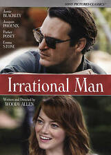 Irrational Man WOODY ALLEN EMMA STONE USED VERY GOOD DVD