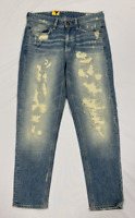 G-Star Raw 3301Tapered Ladies Jeans Blue UK W25 L32 *Ref85