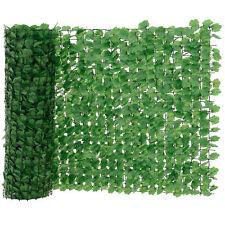[neu.haus]® Blätterzaun Grün Sichtschutz Windschutz Zaun Garten Balkon Sonnen