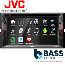 "JVC KW-V240BT 6.2"" Touchscreen Double Din Bluetooth CD MP3 DVD iPhone Car Stereo"