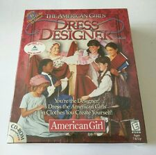 American Girls: Dress Designer CD-ROM (PC1999) CREATE PRINT & PLAY **VERY RARE**