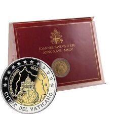 Pièces euro du Vatican année 2004