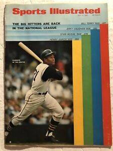1967 Sports Illustrated PITTSBURGH Pirates ROBERTO CLEMENTE Ali GUILTY No Label