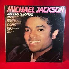 MICHAEL JACKSON Ain't No Sunshine 1982 UK Vinyl LP EXCELLENT CONDITION