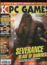 K PC GAMES2001 uefa challenge,warcraft3,fallout tactics,throne of darkness