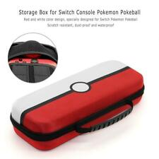 Portable PU Case Storage Box Pouch for Switch Console Pokemon Pokeball Plus New
