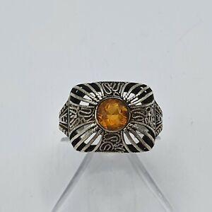 A220#  Theodor Fahrner Ring Silber 925 punziert RG 58 #1