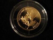 20 EURO IN GOLD DEUTSCHER WALD KIEFER  2013 PRÄGESTÄTTE F SELTEN RAR