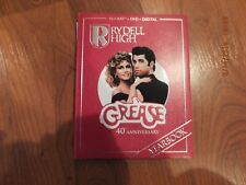 Grease Collection Yearbook Blu-ray bluray & dvd Travolta  no digital code read