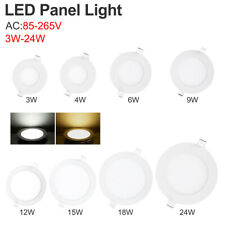 85-265V Recessed LED Ceiling Panel Down Light Round Spot Lamp Fixture+Driver 51