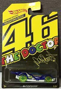 BLITZSPEEDER Auto 46 The Doctor Valentino Rossi Edizione Speciale Hot Wheels