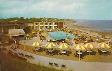 Swampscott, MA - The Colony Motel - Bird's Eye View Including Waterfront - 1962