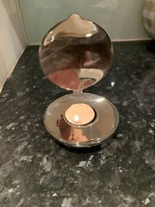 Shell Votive Candle Holder - Silver