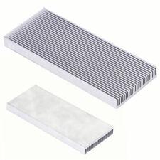 Radiateur en aluminium de radiateur de la chaleur 100x41x8mm pour transistor LC