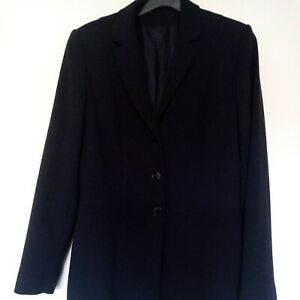 Size 10 12 ladies Navy blazer Jacket  Once To Wedding