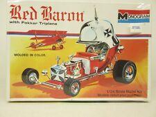 Monogram #6740, Red Baron W/Fokker Triplane, 1/24 Scale