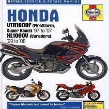 1997-2007 Haynes Honda VTR1000F & 1997-2007 XL1000V Hardback Repair Manual