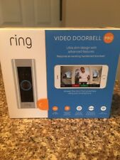 RING Video Doorbell PRO WiFi 1080P HD Motion Detection 2-Way Audio +4 Faceplates