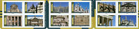 France 2019 MNH Architecture Notre Dame Louvre Chambord 12v S/A Booklet Stamps