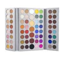 71 Farben Matte Lidschatten-Palette Make-up Puder Lidschatten Tablett Heiß R5E6
