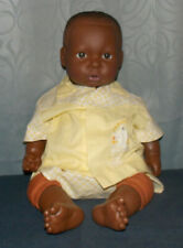 """Adorable Berenguer African American Boy Baby Doll! 19"""" Tall/Vinyl/Weighted/"""