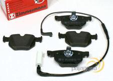 Bmw 5er E60 Zimmermann Bremsklötze Warnkabel für hinten die Hinterachse*